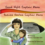 Goodnight Captain Mama Books and Patches