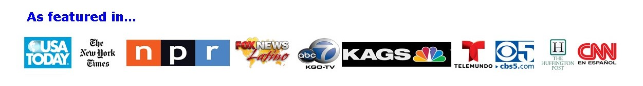 media logos where Graciela has been featured