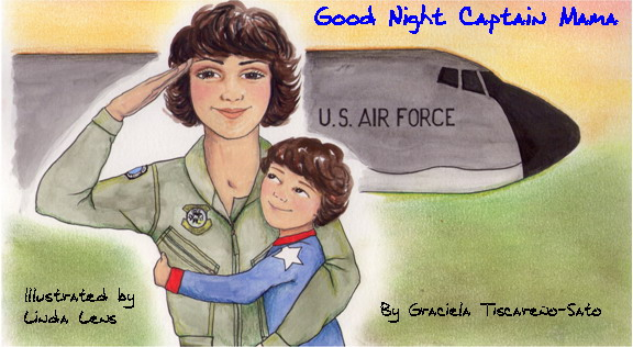 military mama book cover art